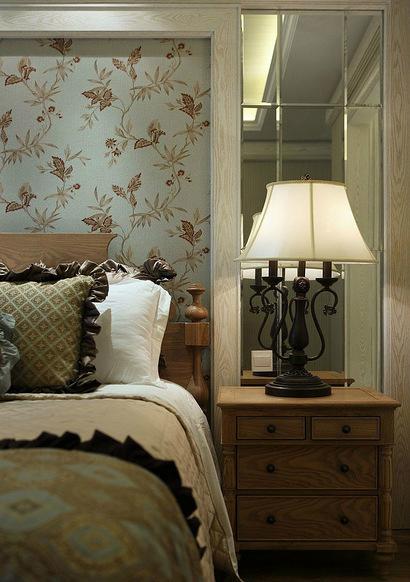 卧室图片来自家装大管家在精致自然 110平美式混搭舒适3居的分享