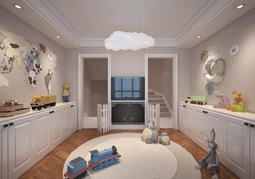 轻奢 儿童房图片来自晋级装饰潘露在晋级装饰——中海龙湾450平米的分享