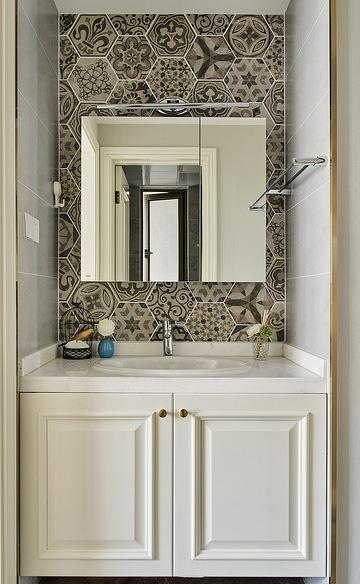 卫生间图片来自家装大管家在舒适平淡 135平现代美式休闲3居的分享