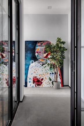 简约 现代 民宿 现代风格 玄关图片来自俏业家装饰在重庆喜马拉雅大平层现代风格装修的分享