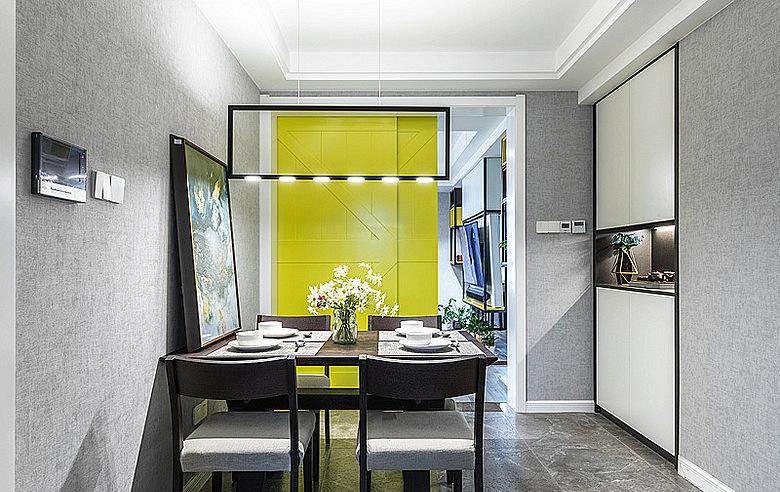 餐厅图片来自家装大管家在暖暖的空间 62平现代简约雅致居的分享