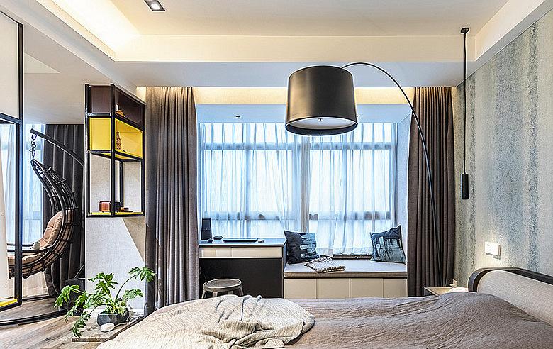 卧室图片来自家装大管家在暖暖的空间 62平现代简约雅致居的分享