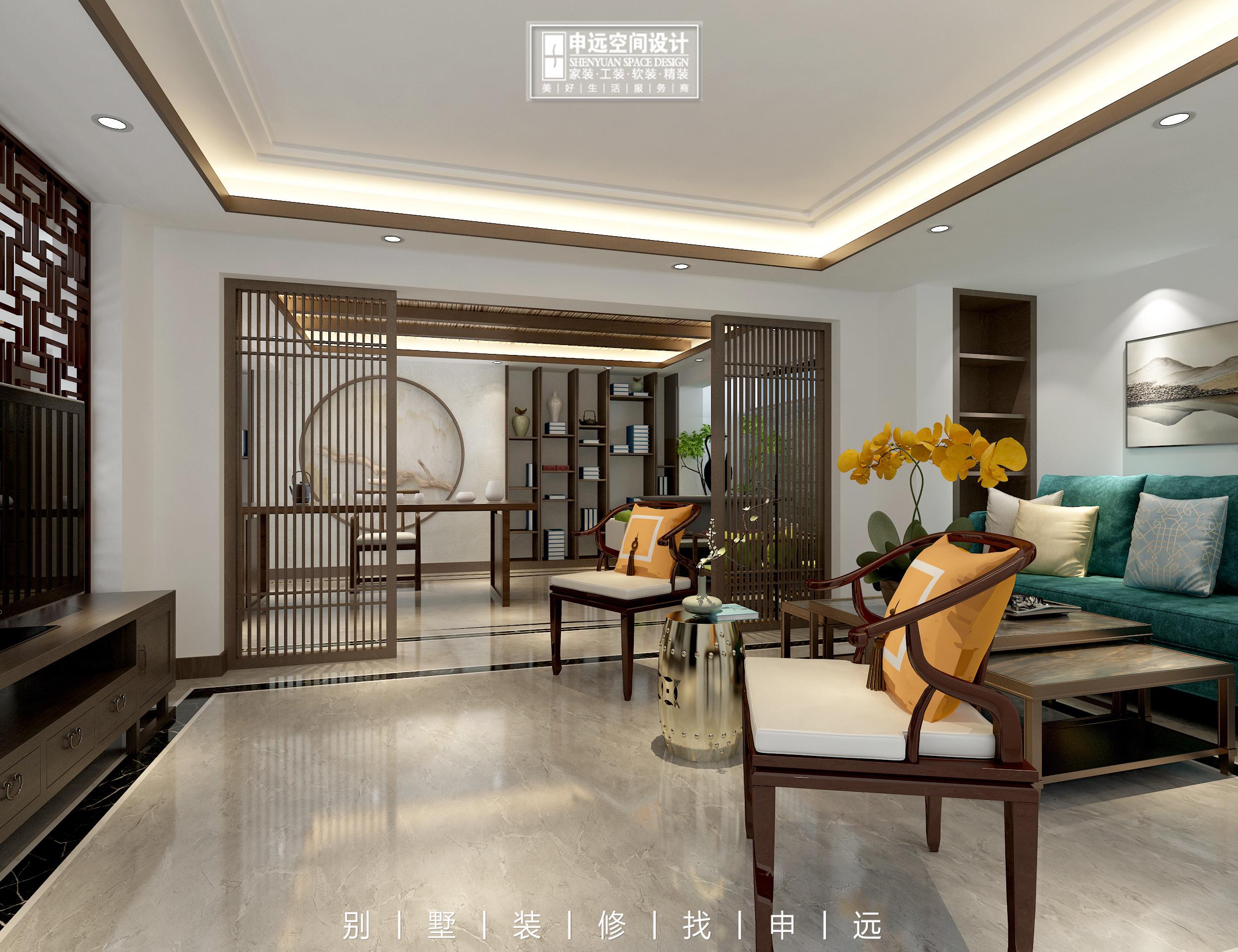 别墅装修 申远 北京申远 客厅图片来自申远空间设计北京分公司在北京申远空间设计-别墅装修的分享