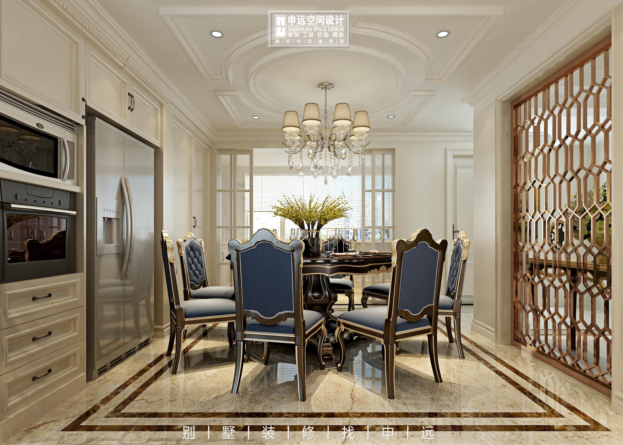 别墅装修 申远 北京申远 餐厅图片来自申远空间设计北京分公司在北京申远空间设计-别墅装修的分享