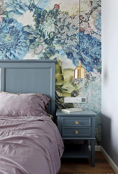 卧室图片来自家装大管家在舒适温馨 86平炫彩简约时尚家的分享