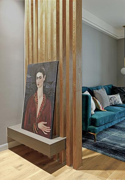 客厅图片来自家装大管家在舒适温馨 86平炫彩简约时尚家的分享