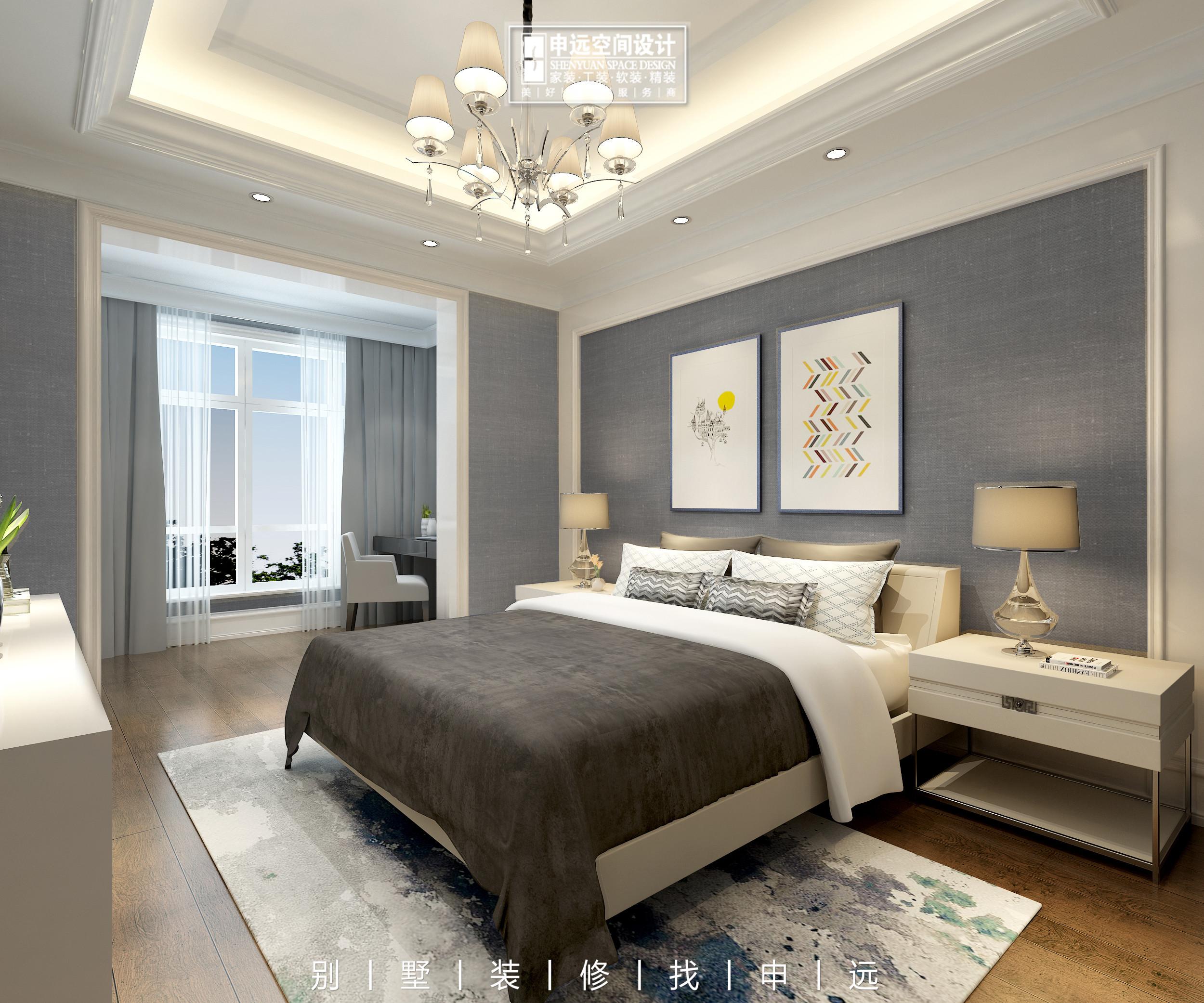别墅装修 申远 北京申远 卧室图片来自申远空间设计北京分公司在北京申远空间设计-别墅装修的分享