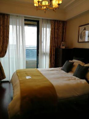 欧式 整天软装设 装修案例 家具 精装房 卧室图片来自洛克整体软装设计在【洛克案例】润富国际精装房的分享