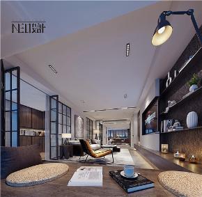简约 现代 三居 白领 收纳 旧房改造 小资 客厅图片来自尼欧 | NEO设计在尼欧作品《流·光》的分享