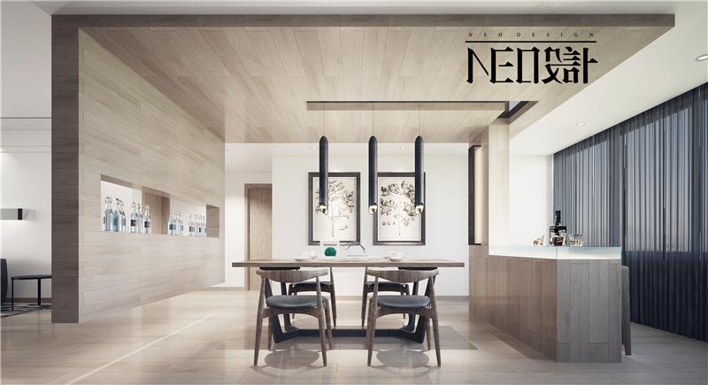 简约 现代 白领 收纳 旧房改造 80后 餐厅图片来自尼欧   NEO设计在尼欧—《简居》的分享