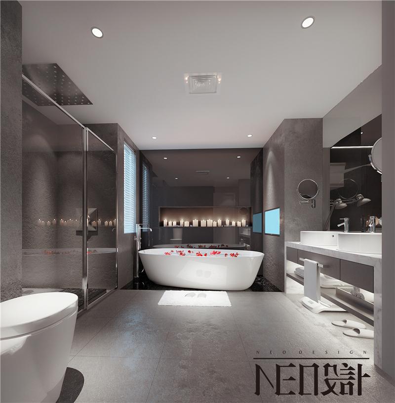 简约 二居 混搭 白领 旧房改造 收纳 80后 小资 卫生间图片来自尼欧 | NEO设计在尼欧—《白色光影》的分享