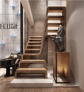 简约 现代 复式 白领 收纳 旧房改造 小资 楼梯图片来自尼欧 | NEO设计在尼欧—《重生》的分享