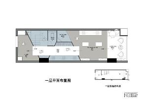 简约 现代 商业设计 店铺 白领 收纳 旧房改造 小资 户型图图片来自尼欧 | NEO设计在尼欧—《FSL》的分享