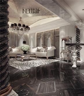 美式 收纳 旧房改造 80后 小资 福州设计师 尼欧设计师 客厅图片来自尼欧 | NEO设计在尼欧—《雅奢素影》的分享