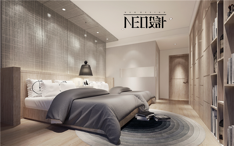 简约 现代 白领 收纳 旧房改造 80后 卧室图片来自尼欧 | NEO设计在尼欧—《简居》的分享