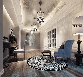 美式 收纳 旧房改造 80后 小资 福州设计师 尼欧设计师 书房图片来自尼欧 | NEO设计在尼欧—《雅奢素影》的分享