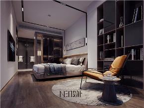 简约 现代 三居 白领 收纳 旧房改造 小资 卧室图片来自尼欧 | NEO设计在尼欧作品《流·光》的分享