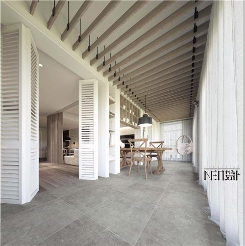 现代 三居 白领 收纳 旧房改造 80后 小资 阳台图片来自尼欧 | NEO设计在尼欧—《静居雅境》的分享