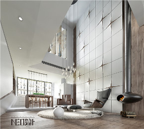 简约 现代 复式 白领 收纳 旧房改造 小资 客厅图片来自尼欧 | NEO设计在尼欧—《重生》的分享