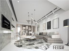 现代 三居 白领 收纳 旧房改造 80后 小资 客厅图片来自尼欧 | NEO设计在尼欧—《灰姑娘》的分享