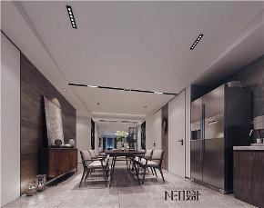 简约 现代 三居 白领 收纳 旧房改造 小资 餐厅图片来自尼欧 | NEO设计在尼欧作品《流·光》的分享