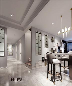 现代美式 简约 别墅 白领 收纳 旧房改造 80后 小资 楼梯图片来自尼欧 | NEO设计在尼欧——《韵沫》的分享