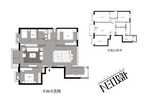 简约 现代 白领 收纳 旧房改造 80后 户型图图片来自尼欧   NEO设计在尼欧—《简居》的分享