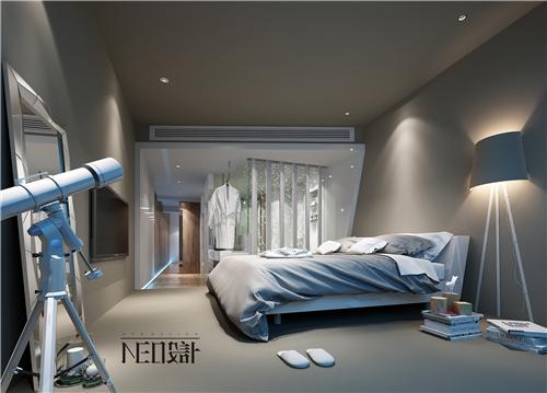 简约 现代 复式 白领 收纳 旧房改造 小资 卧室图片来自尼欧 | NEO设计在尼欧—《重生》的分享