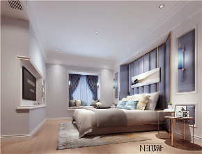 现代美式 简约 别墅 白领 收纳 旧房改造 80后 小资 卧室图片来自尼欧 | NEO设计在尼欧——《韵沫》的分享