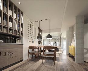 现代 三居 白领 收纳 旧房改造 80后 小资 餐厅图片来自尼欧 | NEO设计在尼欧—《静居雅境》的分享