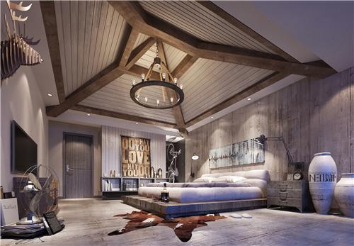 北欧风格 工业风 别墅 白领 收纳 旧房改造 80后 小资 卧室图片来自尼欧 | NEO设计在尼欧——《归宿》的分享