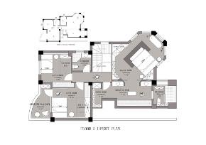 简约 现代 别墅 白领 收纳 旧房改造 小资 户型图图片来自尼欧   NEO设计在尼欧—《K先生的家》的分享