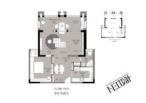 现代 三居 白领 收纳 旧房改造 80后 小资 户型图图片来自尼欧   NEO设计在尼欧—《静居雅境》的分享