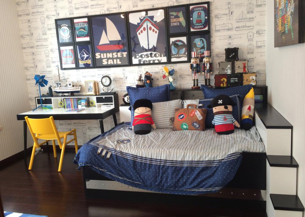 三居 峰光无限 现代 简约 保利 天悦 毛坯 卧室图片来自我是小样在保利天悦118平三室现代风格的分享