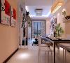 御锦城94平两室现代简约风格