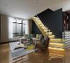 混搭、阁楼......今天介绍的设计将当下最受欢迎的两种构架元素融合一起,拼接地毯、布艺长形沙发,子母小茶几,简洁现代风格装饰总是让人轻松明朗,清新明媚。