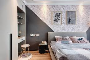 小资 主卧 卧室图片来自重庆东易日盛装饰在竞地朔源居轻奢风设计的分享