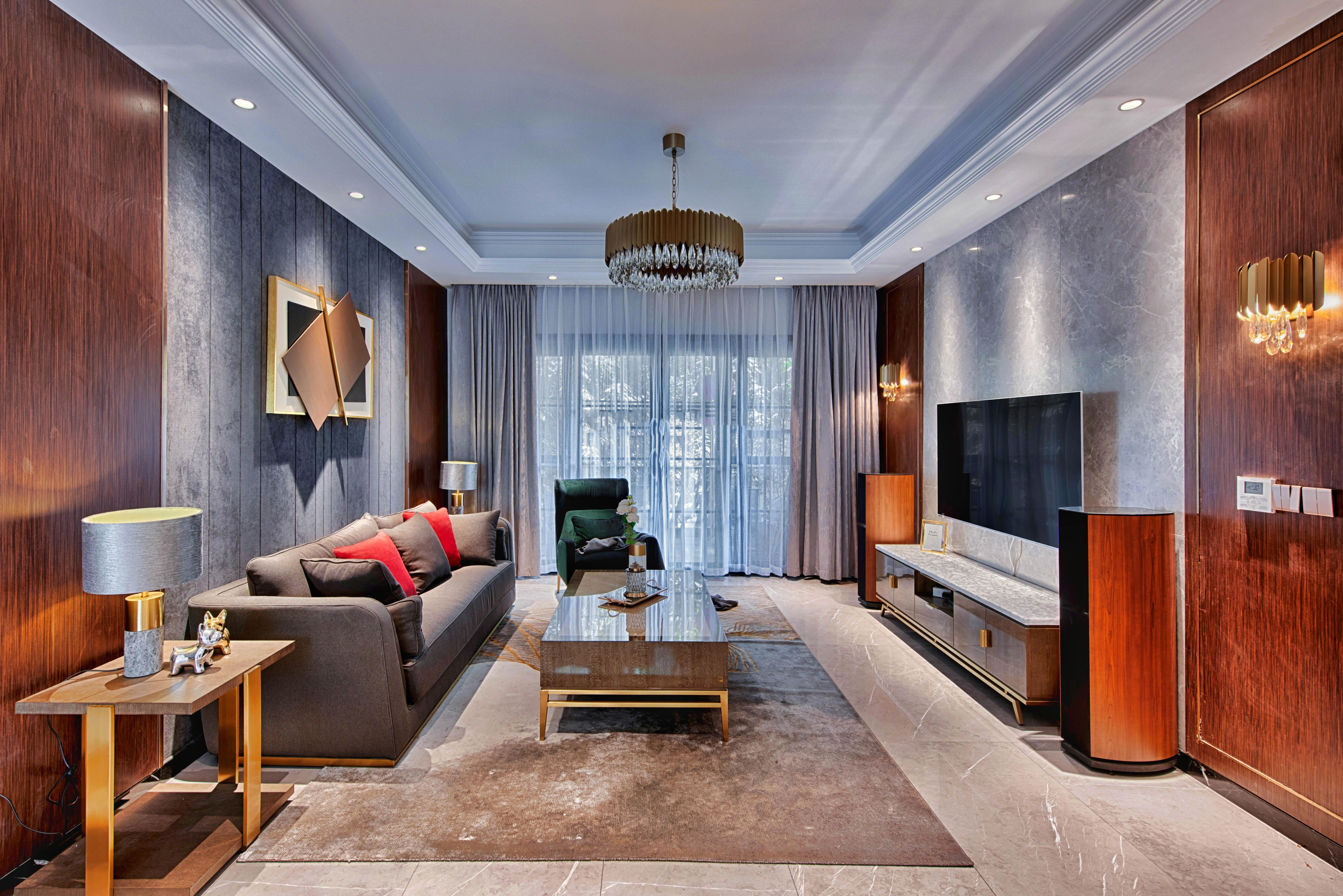 白领 小资 客厅 客厅图片来自重庆东易日盛装饰在竞地朔源居轻奢风设计的分享