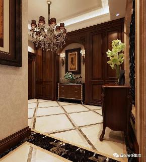欧式 玄关图片来自晋级装饰潘露在晋级装饰——橡树湾350平米的分享
