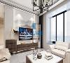 客厅运用中国风山水画做电视背景墙基层做背景,将整个空间营造的更加巧妙,线条灵活,简一的吊顶,一气合成