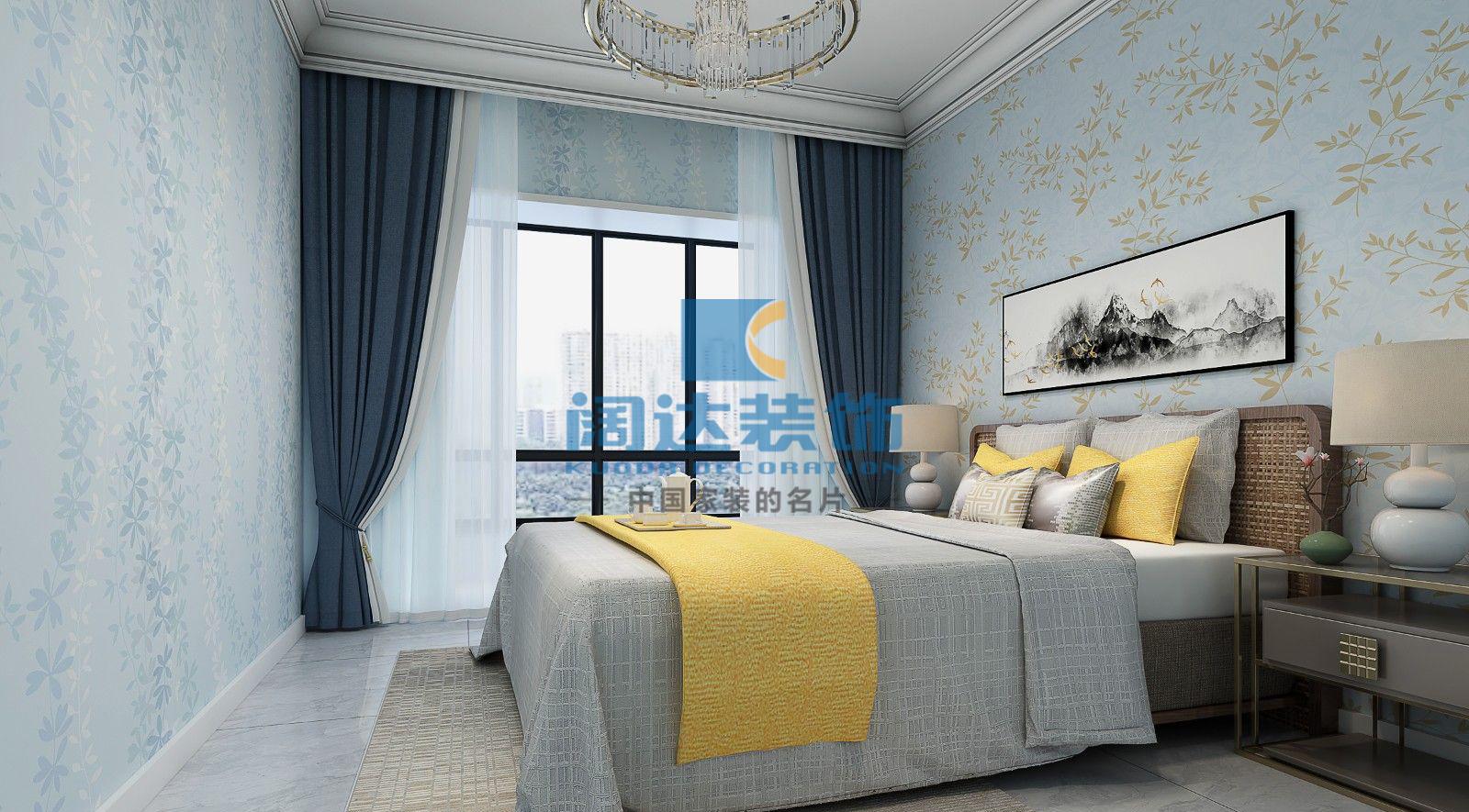 简约 欧式 田园 客厅 卧室图片来自兰州阔达装饰公司在聚金雅园 110平 现代简约风格的分享
