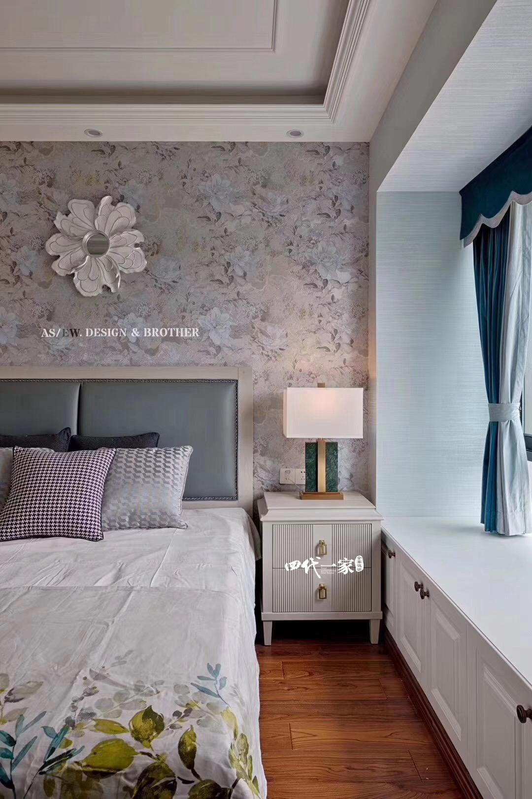 田园 三居 卧室图片来自重庆兄弟装饰黄妃在重庆大学集资楼小美式装修参考图的分享