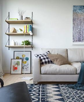 小清新 客厅图片来自晋级装饰潘露在晋级装饰——金地名誉65平米的分享