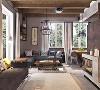 木制多格抽屉柜、储物柜都是森系家居空间里出镜率最高的单品。用大小不一的木格装饰墙面,打造出一个清新的展示空间。采用几片木板制成搁物架或是只用少许木板对墙面进行正面点缀,都可以衬托出房间自然随性的特点。