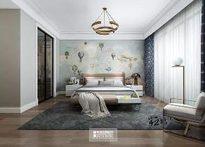 北京申远 别墅装修 别墅 美式 简美 儿童房图片来自申远空间设计北京分公司在北京申远空间设计-轻美式风格的分享