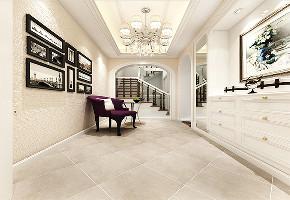 万科白马花 别墅装修 别墅设计 现代风格 楼梯图片来自jtong0002在松江区白马花园别墅装修美式风格的分享