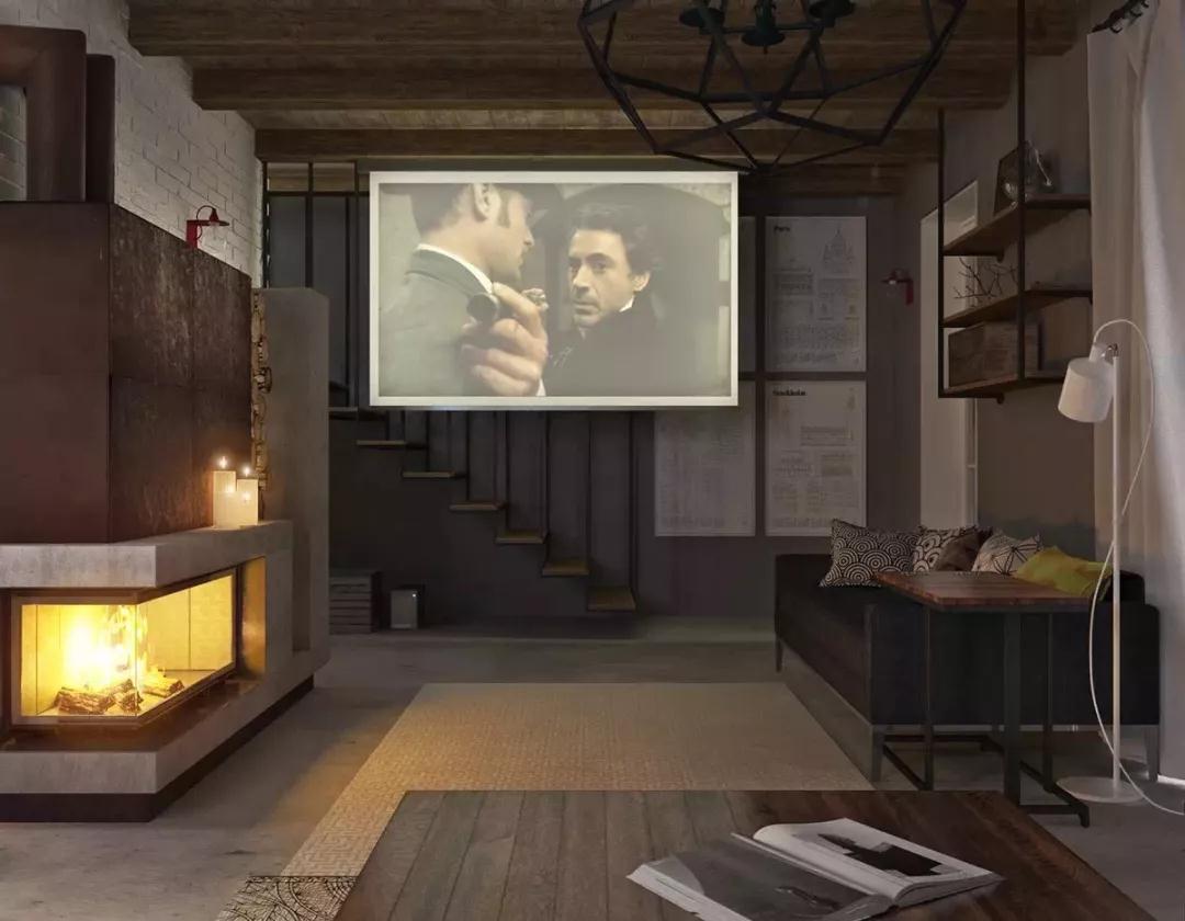 森系极简 客厅图片来自晋级装饰潘露在晋级装饰——银亿万万城85平米的分享
