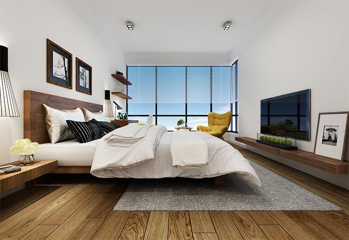 万科白马花 别墅装修 别墅设计 现代风格 卧室图片来自jtong0002在松江区白马花园别墅装修美式风格的分享