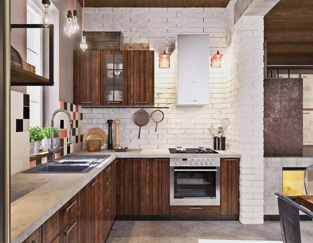 森系极简 厨房图片来自晋级装饰潘露在晋级装饰——银亿万万城85平米的分享