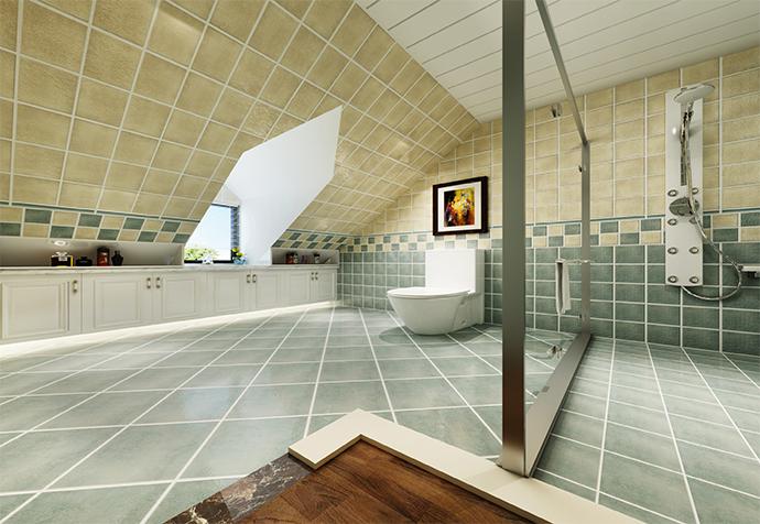 万科白马花 别墅装修 别墅设计 现代风格 卫生间图片来自jtong0002在松江区白马花园别墅装修美式风格的分享